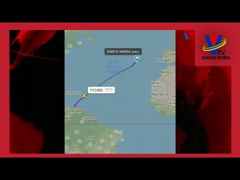 Avión proveniente de Venezuela aterrizó de emergencia en Portugal