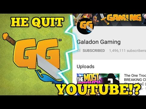 GALADON GAMING QUIT YOUTUBE!!? General tony channel, clash with cam CLASH NEWS #1