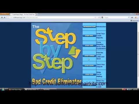 Credit Repair Magic Review - A Look Inside Credit Repair Magic 3.0 Software