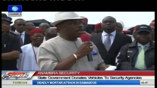 Anambra State Govt Donates Vehicles To Security Agencies