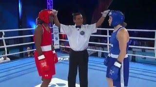 Final 75 kg Claressa Shields vs Ariane Fortin