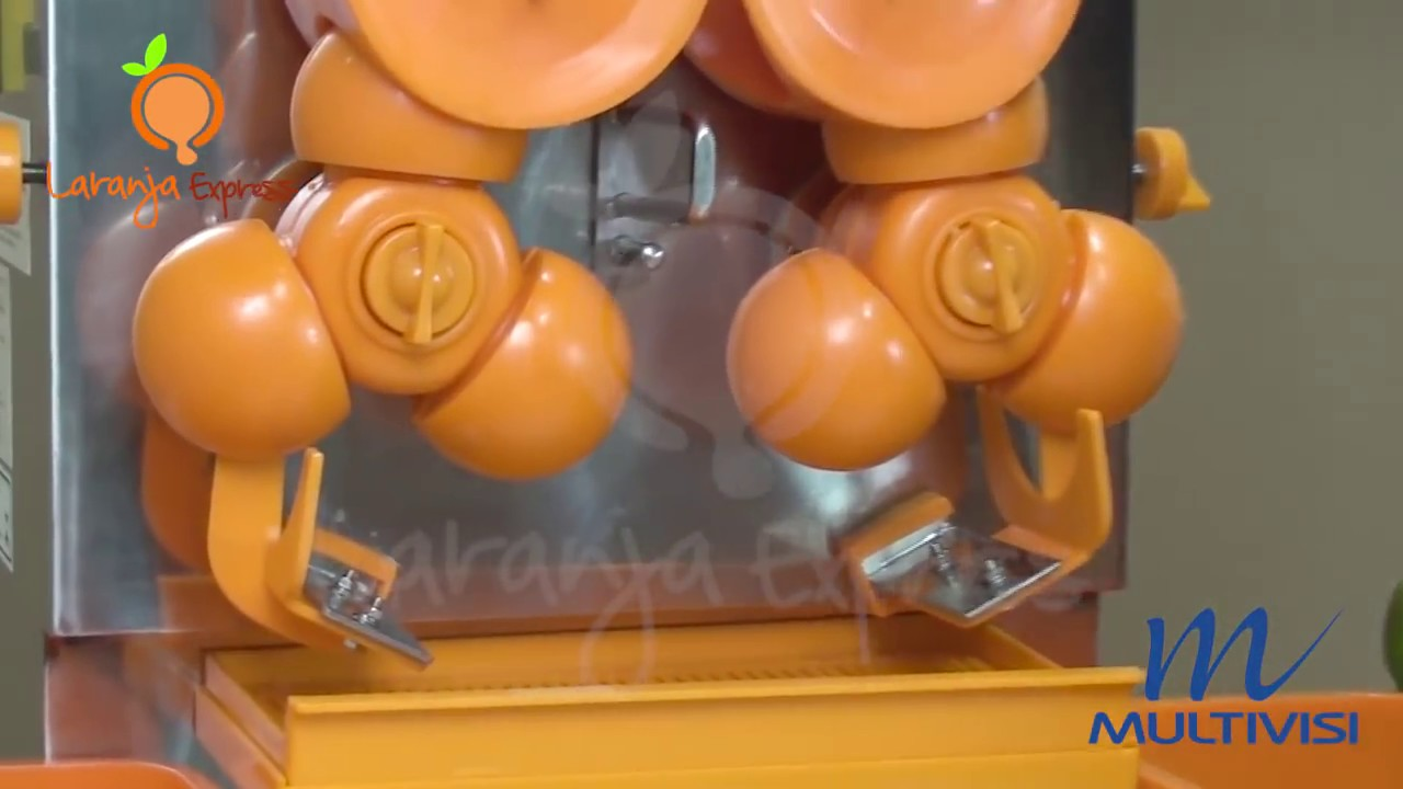 89482aa90f8 Máquina de espremer laranja e tangerina automática - Laranja Express ...