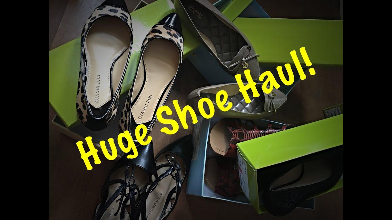 huge shoe haul dillard s dillard s