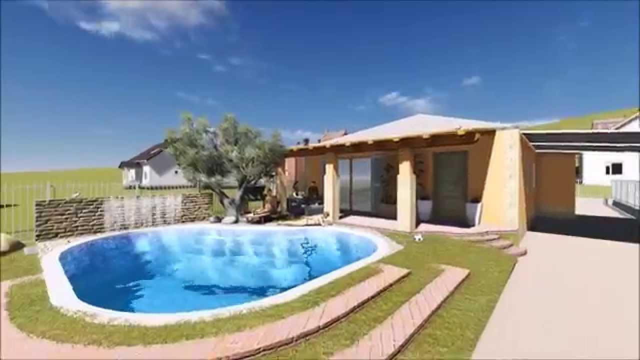 Progetto di villa con piscina geom marco cacciaglia - Progetto villa con piscina ...