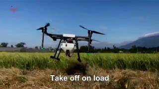 JMRRC X1000 Agriculture drone sprayer, fumigation drone, plant protection drone
