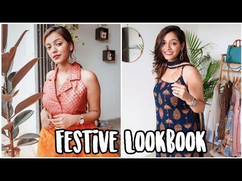 5 Easy Wearable Festive Looks Using Basic Indian Clothes Ft. Daniel Wellington