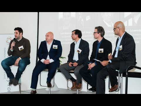 """Brett Noyes on a panel at the Silicon Valley Forum: """"Banking on the Blockchain: Is the Blockchain all Hype or the Next Industrial Revolution?"""""""