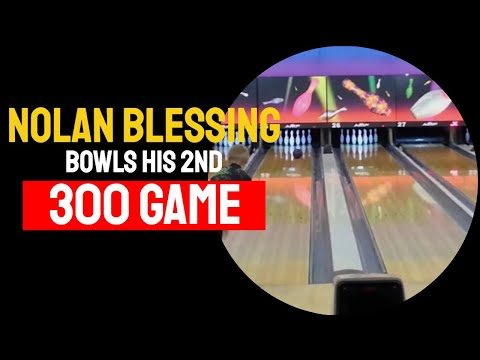 Nolan Blessing's 2nd 300 Game USBC Youth Bowling League