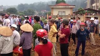 Cưỡng Chế đất Bát Xát  Lào Cai 7-6-2018