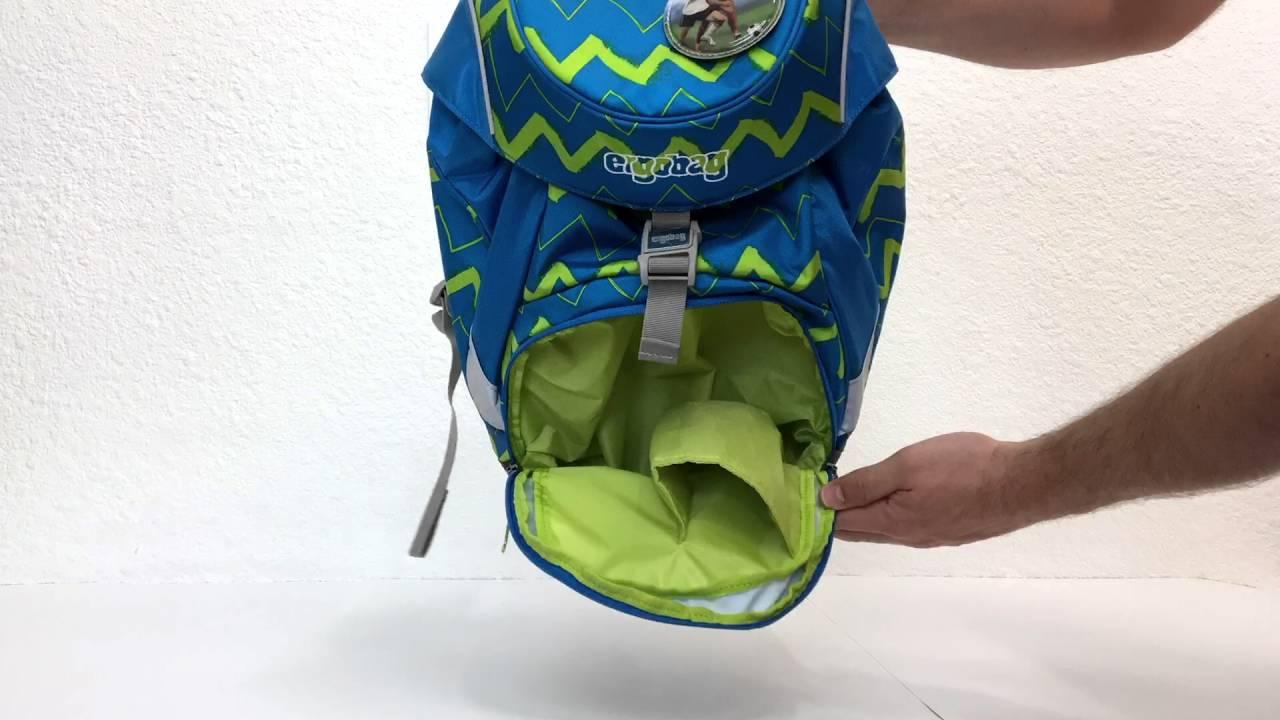 Unikátní ergonomické batohy Ergobag pro 1. stupeň (6 - 11 let) - YouTube a12bebeaef