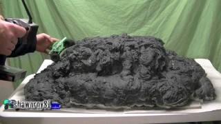 Micro Rock Crawler Spray Foam Mountain Course Build
