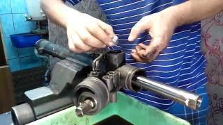 Ремонт рулевой рейки (2 часть)