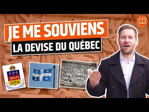 Je me souviens, la devise du Québec - L'Histoire nous le dira #28