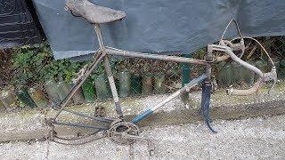 DIY - Old Bike Restoration - Favorit Special 1974 / Road Bike - Part One