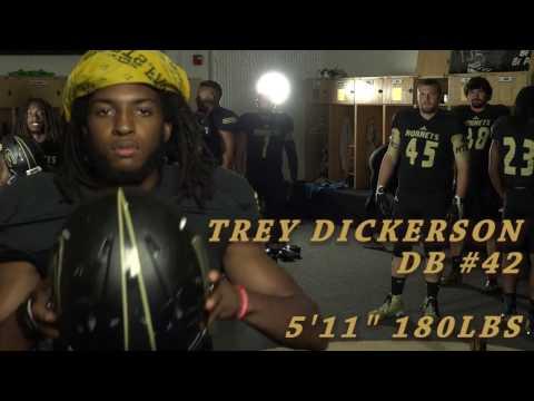 Trey Dickerson - Emporia State Football #42 DB