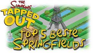 Simpsons - Springfield - Tapped out - Aufruf Top 5 schönste Springfields [Let's Play HD Deutsch]