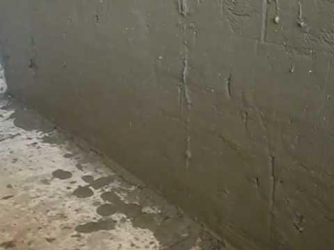 видео: как штукатурить стену