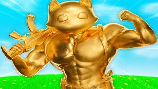 THICCEST GOLD CAT IN FORTNITE