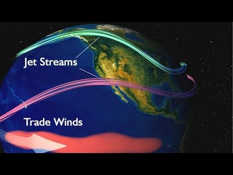 Jet Streams And Its Impact On Climate