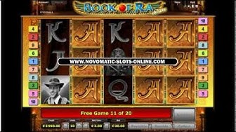 Book Of Ra | €20 Bet - 20 Free Games