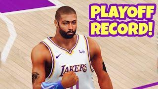 Jordan Playoffs Scoring Record Broken!! 60+ Points! NBA 2K20 Mobile My Career Ep 49