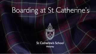 Boarding at St Catherine's School Waverley
