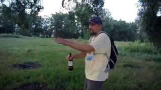 Пьем на речке