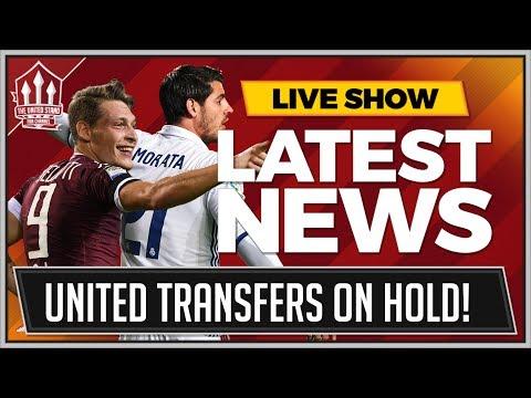 No MORATA or BELOTTI Bid From MAN UTD! Manchester United Transfer News