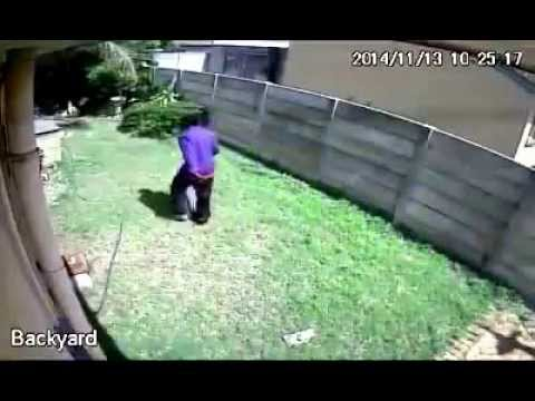 A Burglary Attempt In South Africa Is Thwarted By A