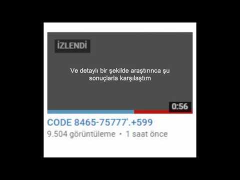 CODE 8465-75777'.+599 - D.A.K 16.10.16 ÇÖZÜLDÜ