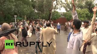 Pakistan: Protesters storm govt building in Islamabad, police flee