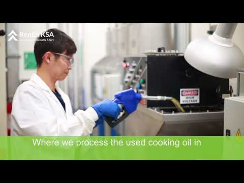 RenEn: Upcycling used cooking oil into clean energy