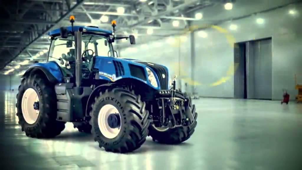 New Holland T8 Baureihe Mit Auto Command Getriebe