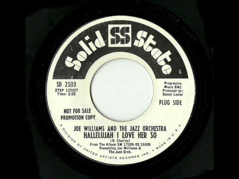 Joe Williams And The Jazz Orchestra - Hallelujah I Love Her So (Solid State)