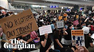 Hong Kong protests held at airport after Yuen Long attack