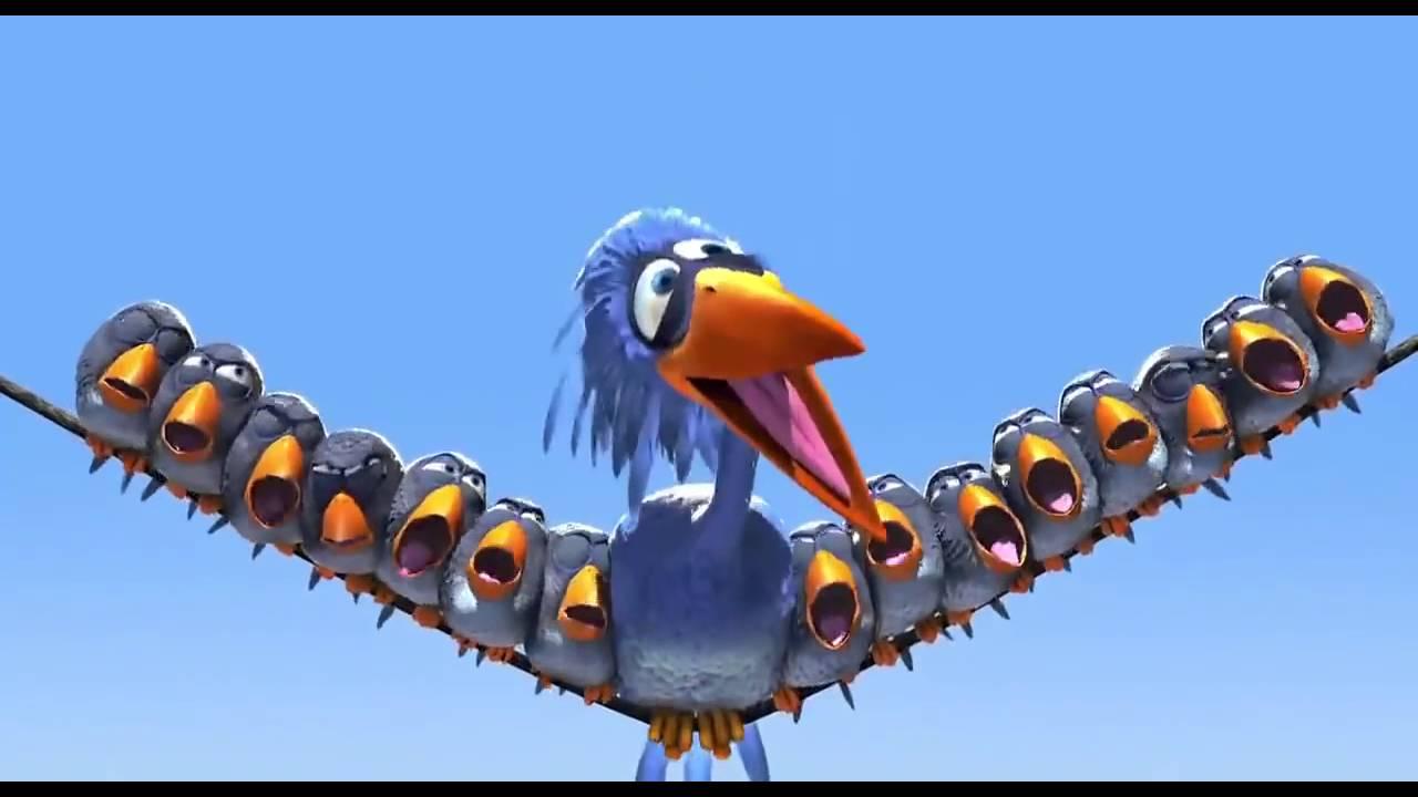 Funny Birds Animated Short Film