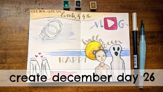 Create December | Day 26  Cozy | Documented Life Journal | Week 44