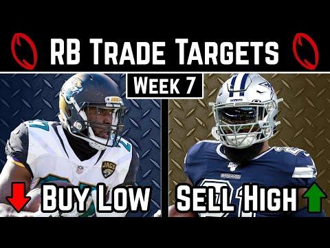 Running Back Trade Targets - Week 7 - 2019 Fantasy Football Advice