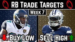 Running Back Trade Targets - Week 7 - 2019 Fantasy Football Advice