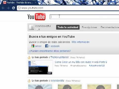 youtube inicio chrome