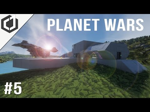 Space Engineers | Planet Wars - EP 5 | Supply Run!