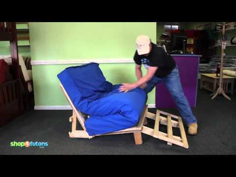 How to Operate a Tri-Fold Futon Lounger