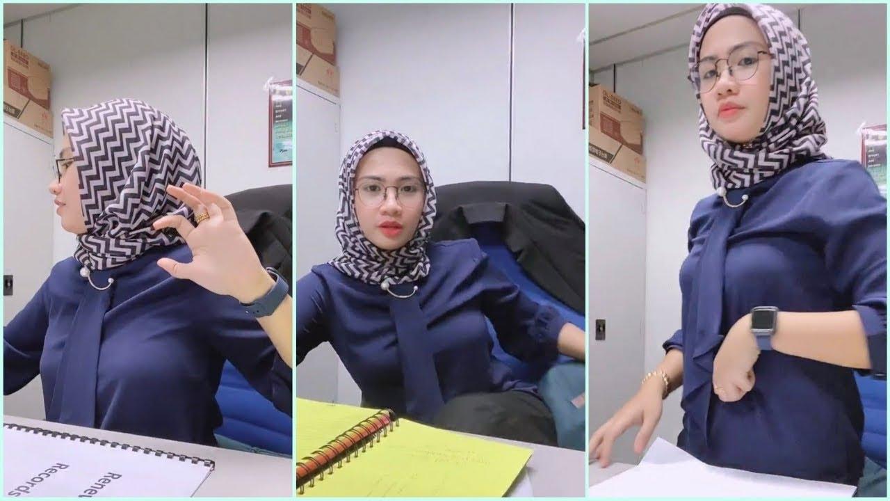 Tutorial Hijab Niqab Style Malaysia Hijabi Girl Live Video Episode 050 Youtube