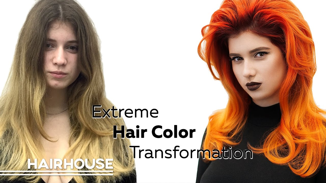 Extreme Hair Color Transformation Hairhouse