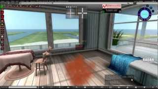 Tutorial on how to fix the orange cloud of death in Second Life using the Firestorm viewer