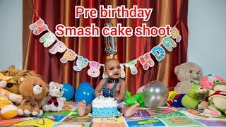 My Son Pre Birthday  Cake Smash Shoot || Behind The Seen || RuchikeshBaby Vlogs