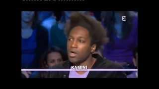 Kamini - On n'est pas couché 9 janvier 2010 #ONPC