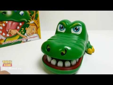 """Игра """"Крокодильчик Дантист"""" (Кроко Дантист) от Хасбро"""