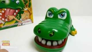 Игра 'Крокодильчик Дантист' (Кроко Дантист) от Хасбро