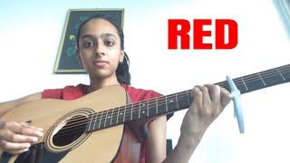 Taylor Swift Red Varshini Vijayakumar Acoustic Cover